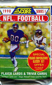 1990 Score Series 1 NFL Football - Retail Pack