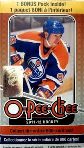2011-12 Upper Deck O-Pee-Chee NHL Hockey cards - Blaster Box