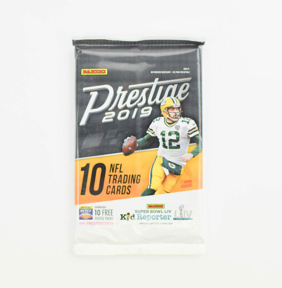 2019 Panini Prestige NFL Football - Retail Pack