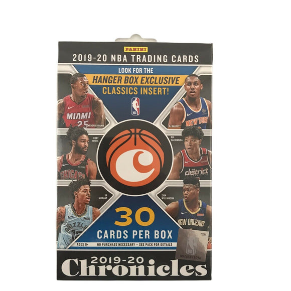 2019-20 Panini Chronicles NBA Basketball - Hanger Box