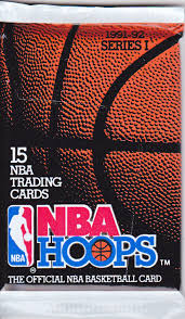 1991-92 NBA Hoops Series 1 NBA Basketball - Hobby Pack