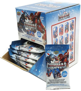 Upper Deck Marvel Captain America: Civil War trading cards (2016) - Retail Box
