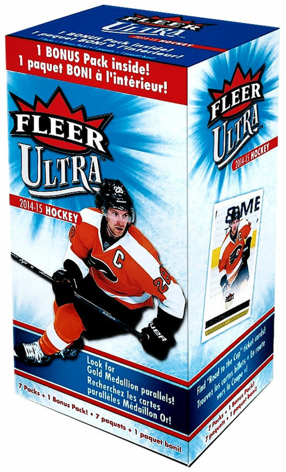2014-15 Upper Deck Fleer Ultra NHL Hockey cards -  Blaster Box