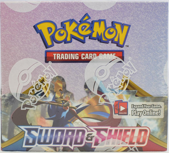 Pokemon Sword & Shield Booster Pack Box (36ct)