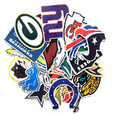NFL Teams 32pc Sticker Collection
