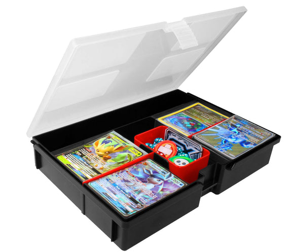 BCW Prime X4 Configurable Gaming Card Plastic Storage Box