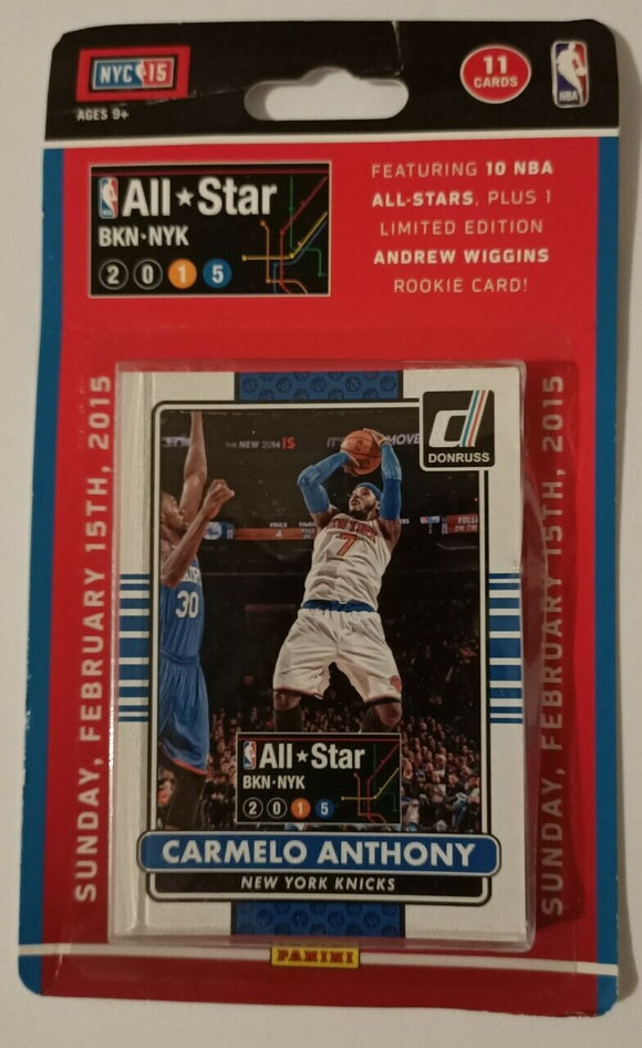 2014-15 Panini Donruss All-Star Exclusive NBA Basketball Set - Retail Pack