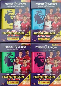 2020-21 Panini Adrenalyn XL EPL Soccer cards - Pocket Tin