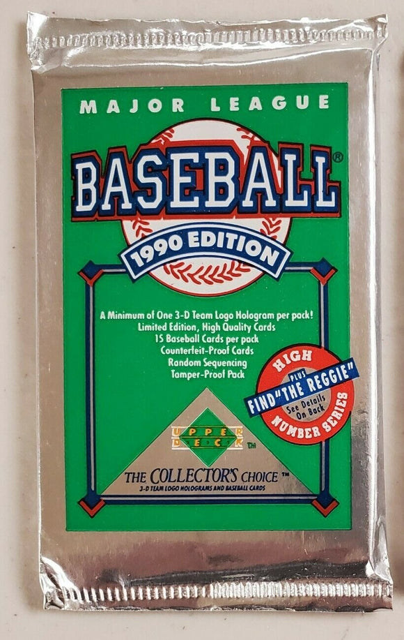 1990 Upper Deck Series 2 MLB Baseball cards - Retail Pack