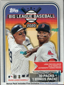 2020 Topps Big League MLB Baseball - Blaster Box (Aristides Aquino)