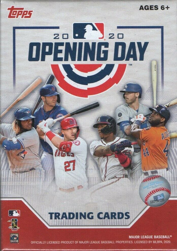 2020 Topps Opening Day MLB Baseball - Blaster Box
