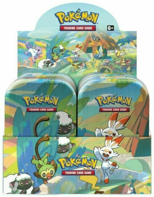 Pokemon Galar Pals Mini Tin (1) One Random Tin