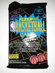 1994-95 Fleer Series 1 NBA Basketball - Retail Pack