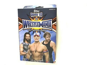 2017 Topps Road to Wrestlemania trading cards - Hanger Box