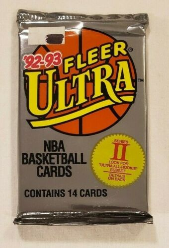 1992-93 Fleer Ultra Series 2 NBA Basketball - Retail Pack
