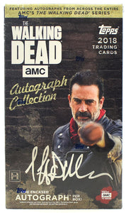 Topps The Walking Dead Autograph Collection (2018) - Hobby Box