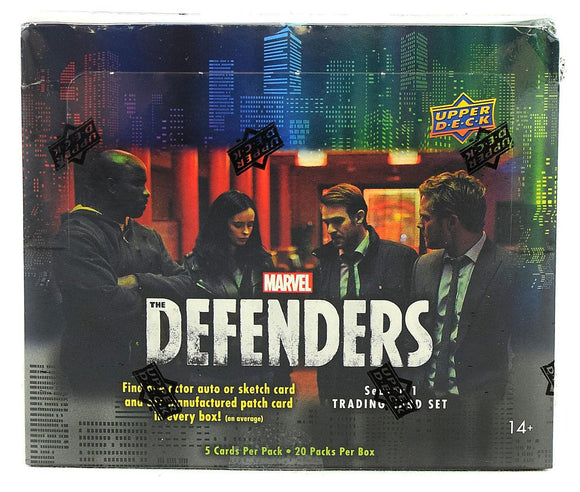 Upper Deck Marvel The Defenders trading cards (2018) - Hobby Box