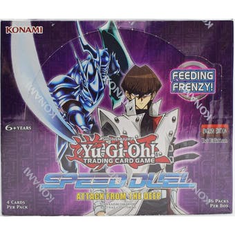 Yu-Gi-Oh! Speed Duel: Attack from the Deep Booster Pack Box (36ct)