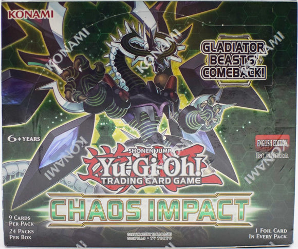 Yu-Gi-Oh! Chaos Impact Booster Pack Box (24ct)