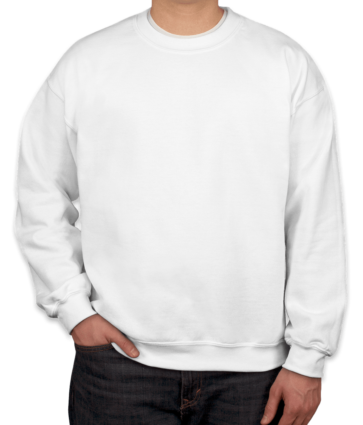 Youth Gildan Midweight 50/50 Crewneck Sweatshirt