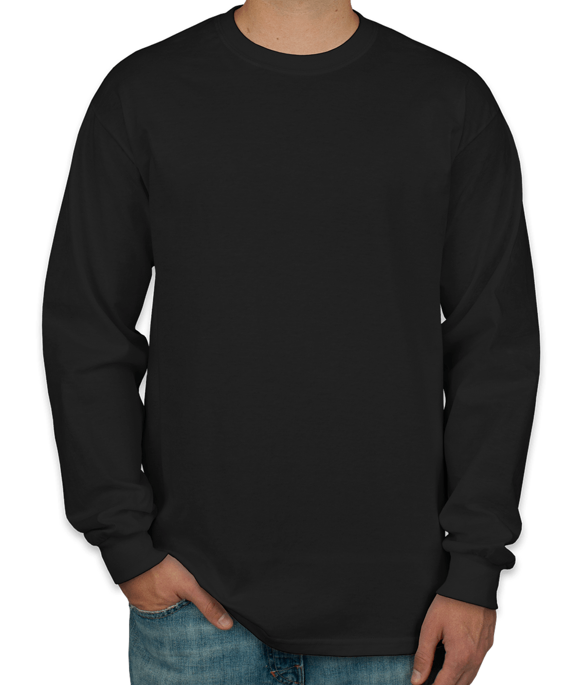 Youth Hanes Tagless Long Sleeve T-shirt