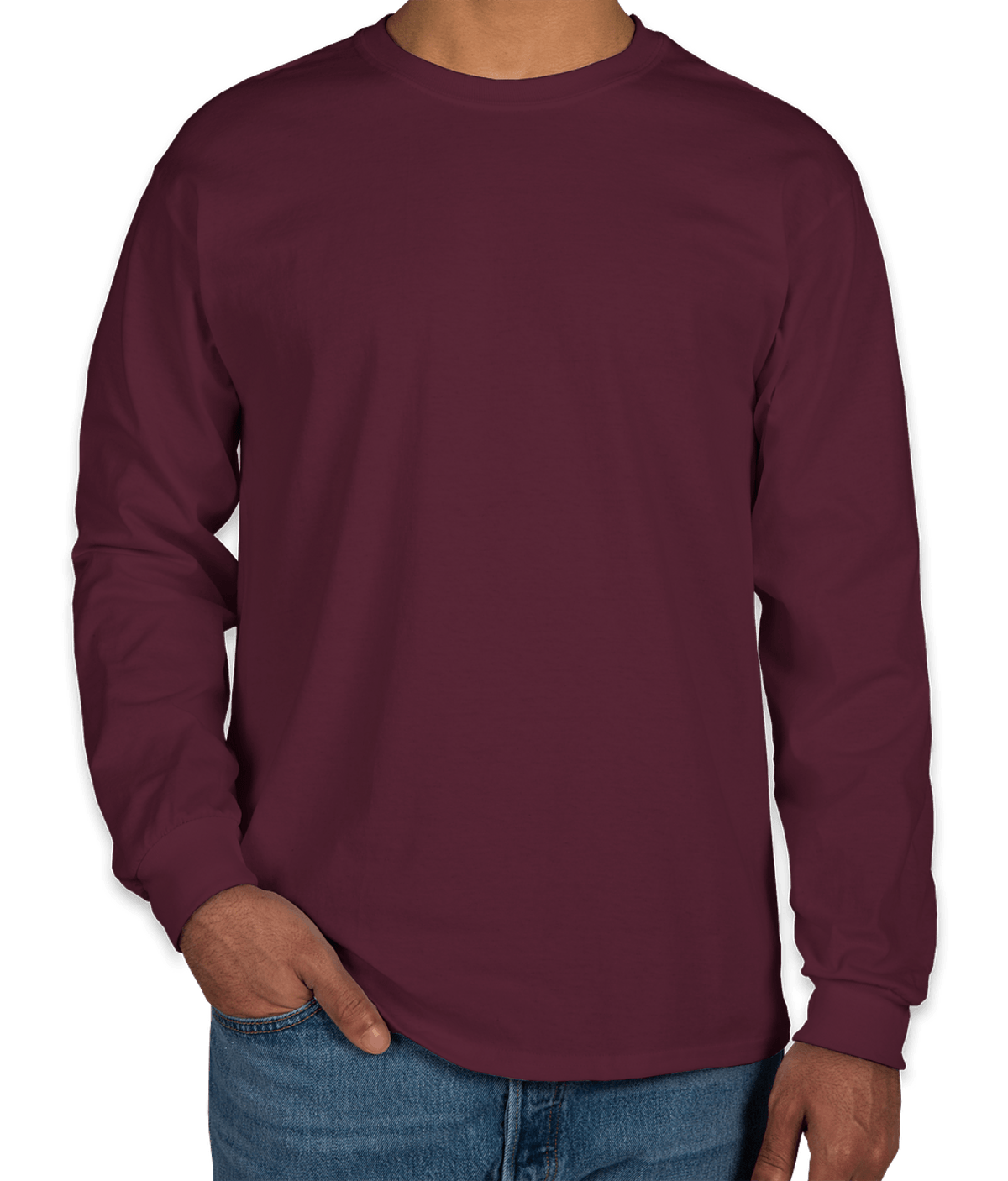 Youth Gildan Ultra Cotton Long Sleeve T-shirt