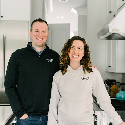 Pat and Ellie O'Brien founders of Square Root