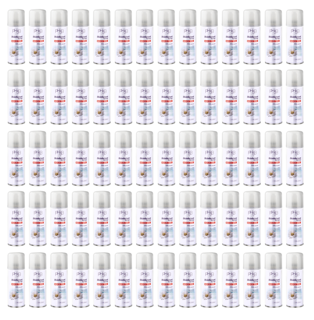 Disinfectant spray 70 packs/1case