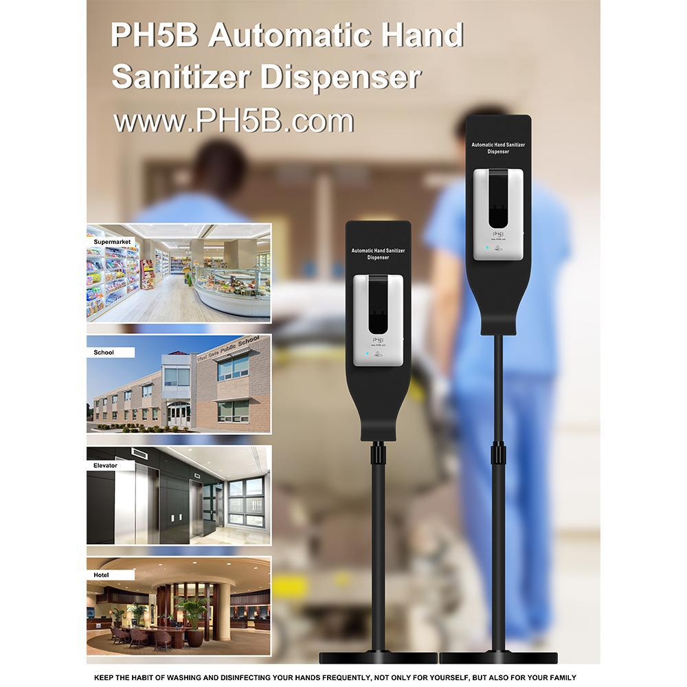 Automatic Hand Sanitizer Dispenser V1- with Stand-PH5B Cosmetics