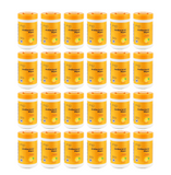 PH5B Alcohol Free Antibacterial Disinfecting Wipes Plant Base Wipe, Fresh Lemon Scent, 100 Piece/Canister (24 Pack)