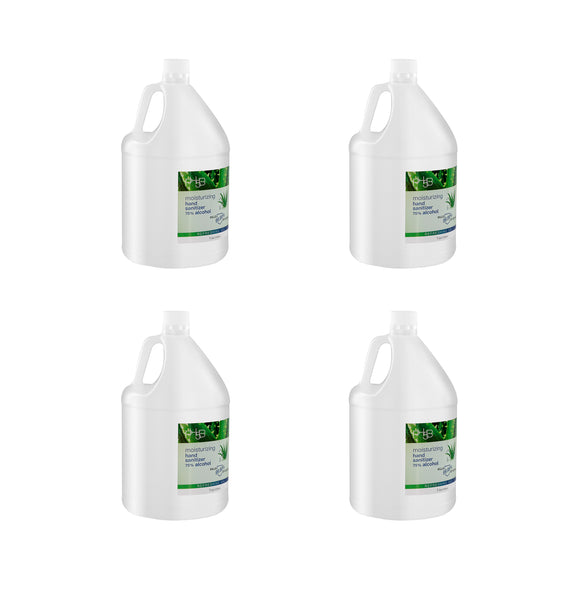 PH5B moisturizing hand sanitizer 75% alcohol-1Gal x 4 bottles