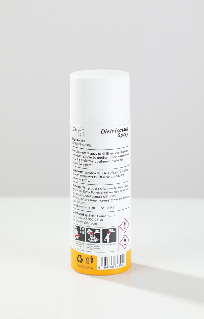 Disinfectant Spray Lemon 200ml-PH5B Cosmetics