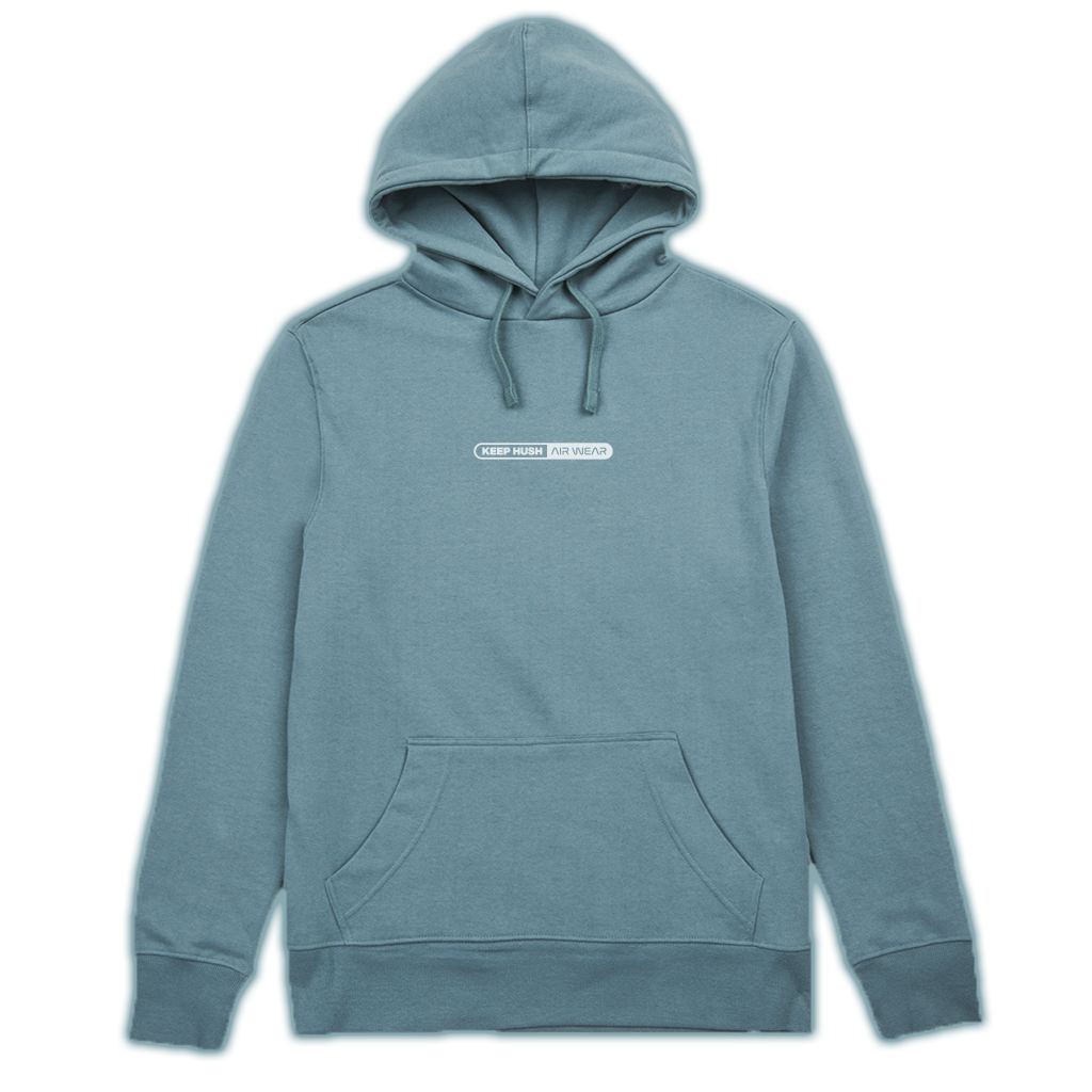 Keep Hush Air Wear hoodie