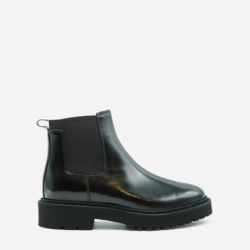Hogan Chelsea Boot in pelle nero HXW5430DG8098AB999