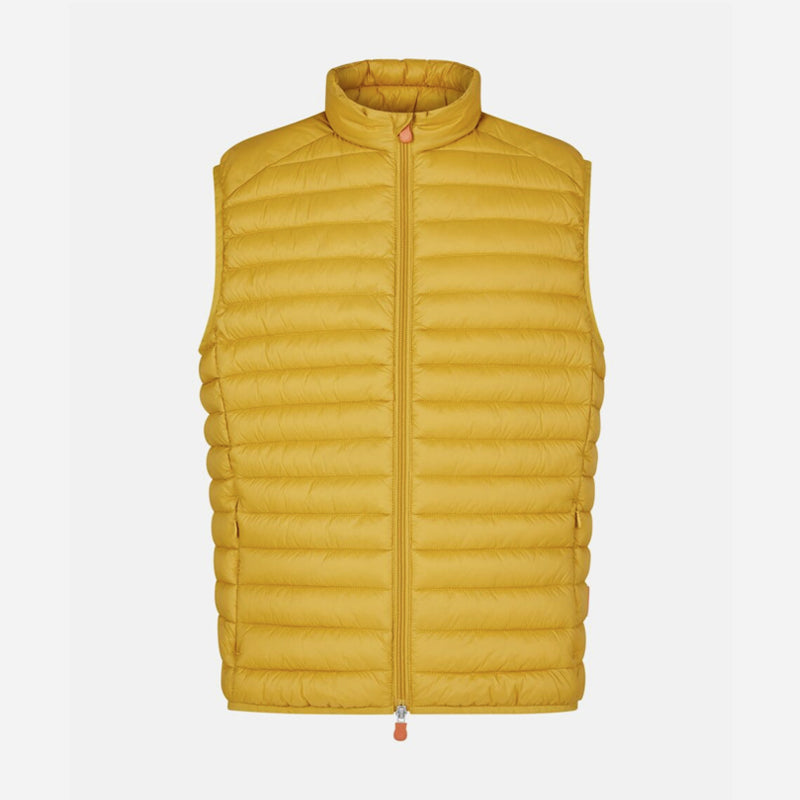 save-the-duck-d82410-giga12-adam-gilet-ochre-yellow