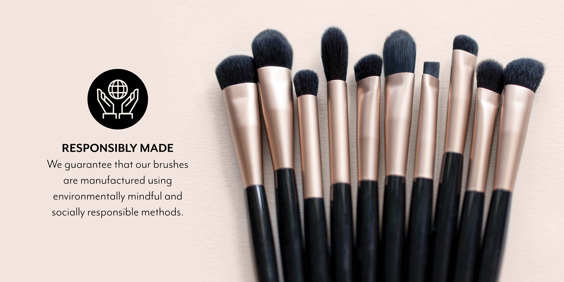 Responsibly Made Brushes