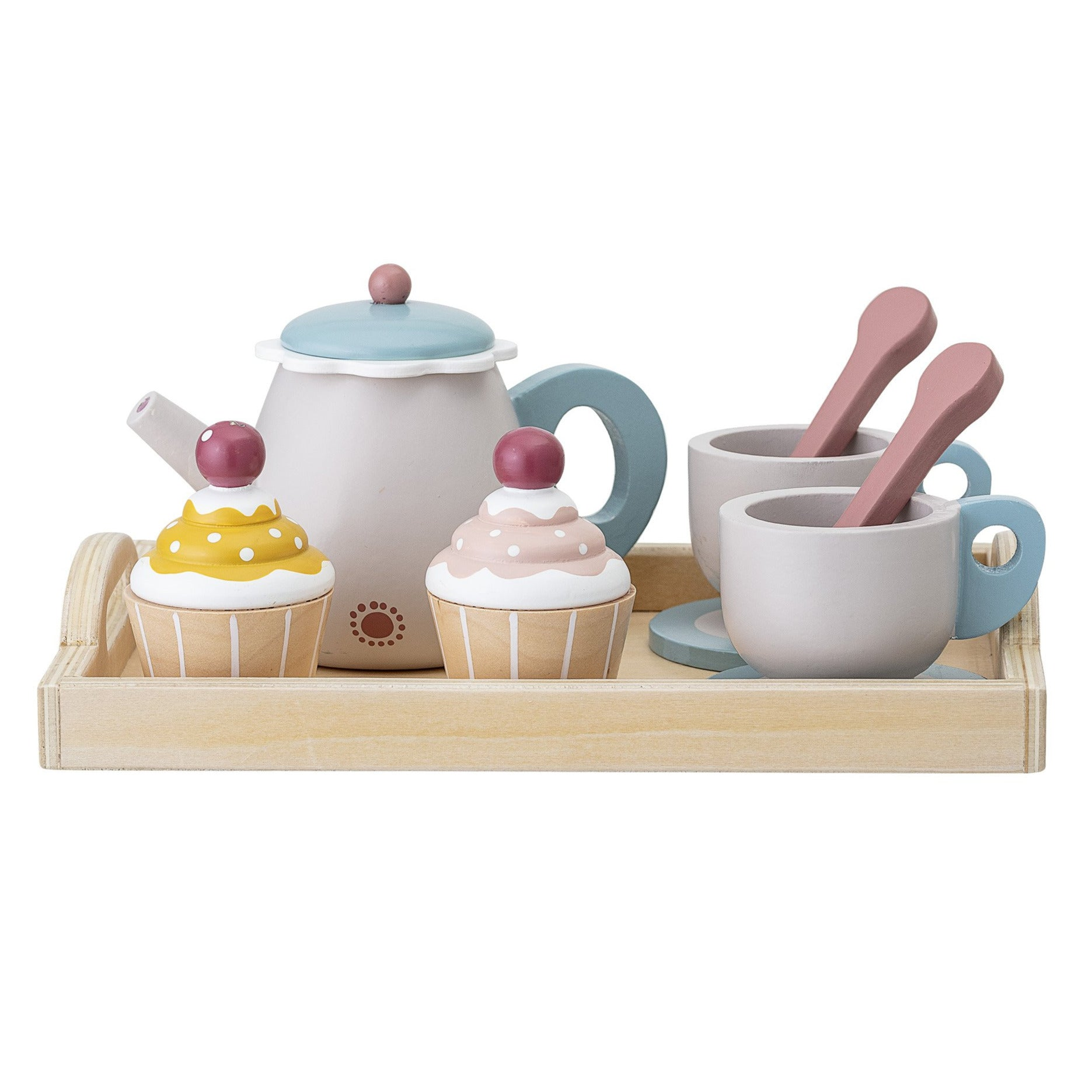 Bloomingville Mini Wooden Tea Set