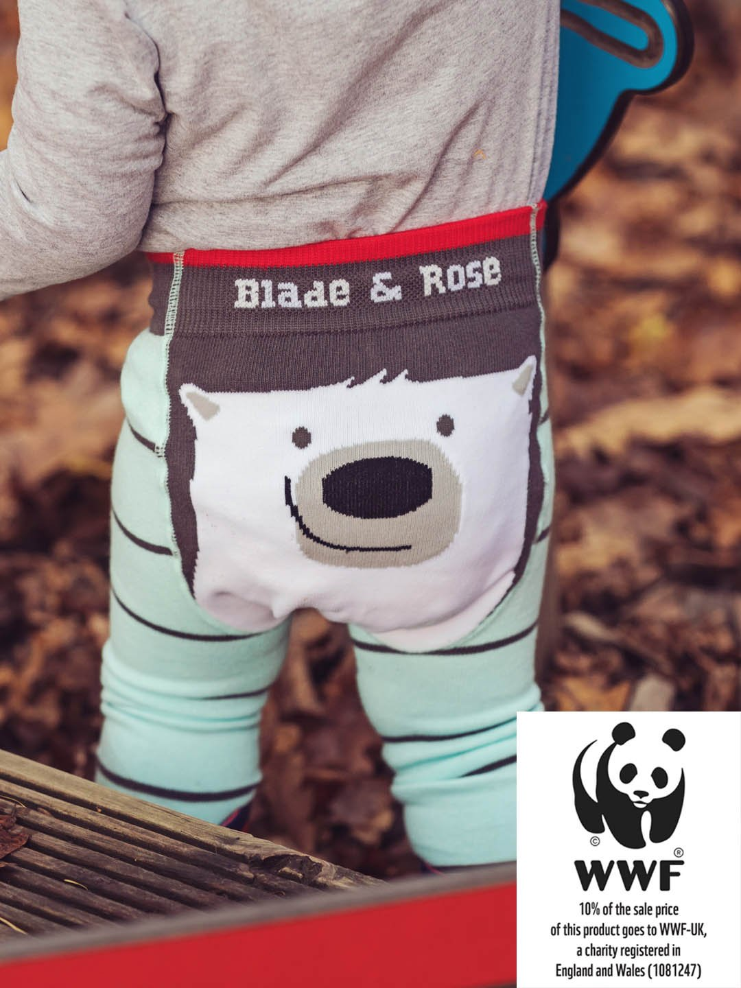 Blade & Rose WWF Polar Bear Leggings