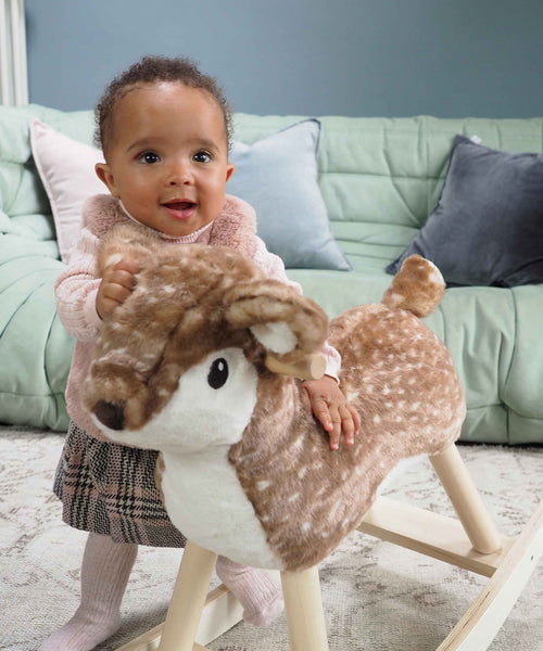Willow Rocking Deer