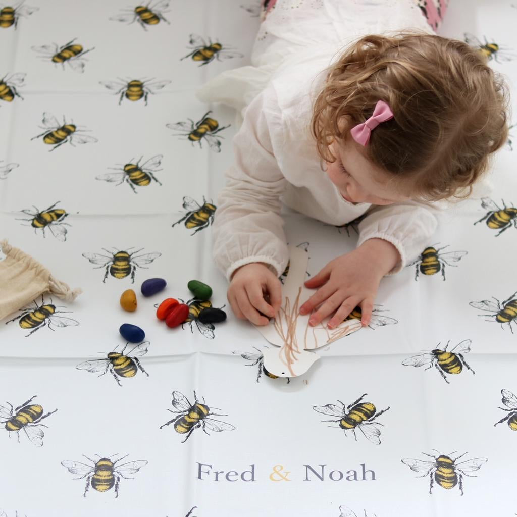 Fred & Noah Craft/Splash Mat - Bee
