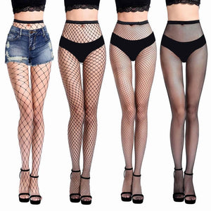 Black Mesh Stockings Fishnet Tights High Quality Leggings - playsuite.de
