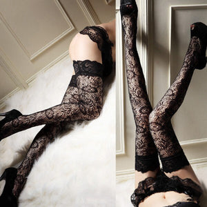 Sheer Lace Sexy Leggings Leggings - playsuite.de