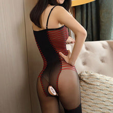 Laden Sie das Bild in den Galerie-Viewer, Babydoll Lingerie Red Fade Lingerie - playsuite.de