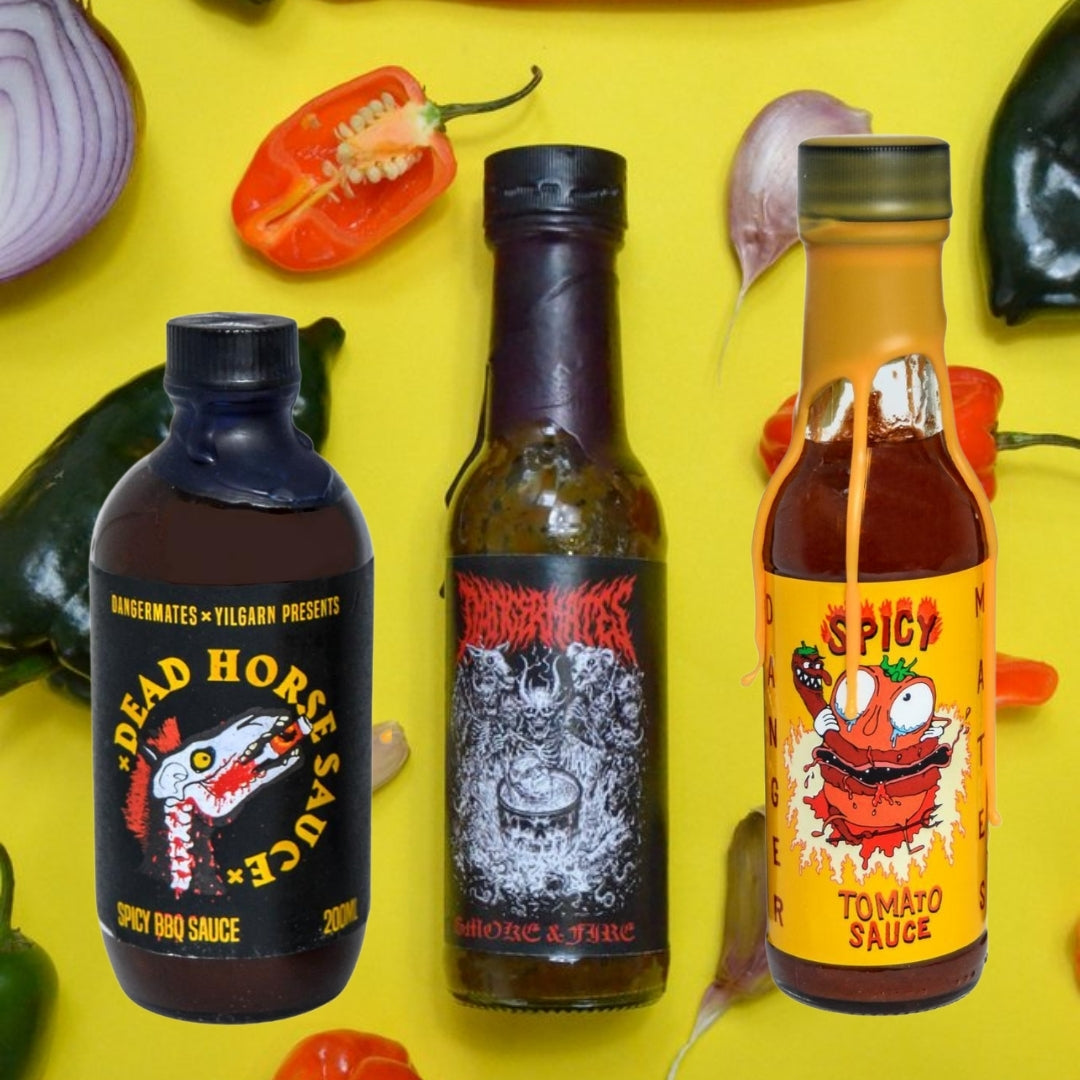 Dangermates Chilli Sauce gourmet condiments made in Australia | Remarkable Humans
