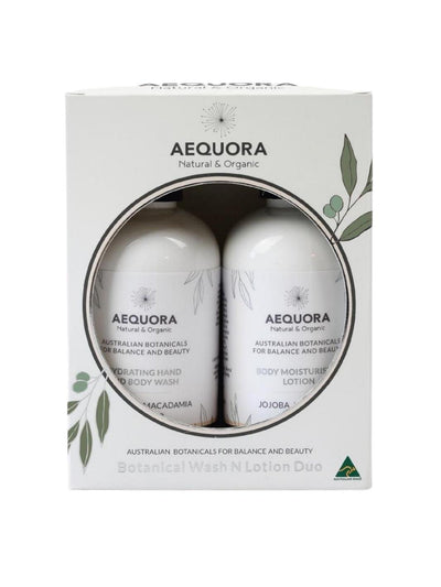 Botanical Wash N Lotion Duo-Aequora-All Australian Made-Remarkable Humans