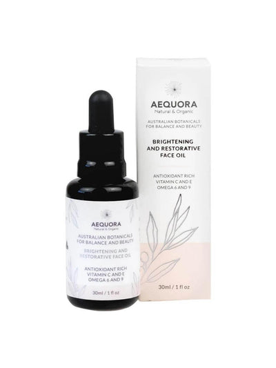Brightening and Restorative Face Oil-Aequora-All Australian Made-Remarkable Humans