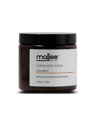 Coconut Coffee Body Scrub-Mallee Scrub-All Australian Made-Remarkable Humans