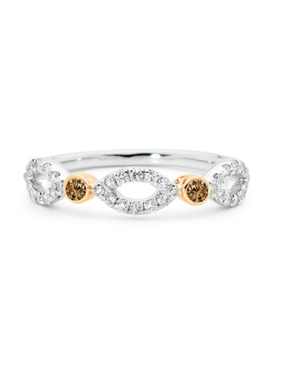 Cognac Reef Ring-Australian Diamond Valley-H-All Australian Made-Remarkable Humans