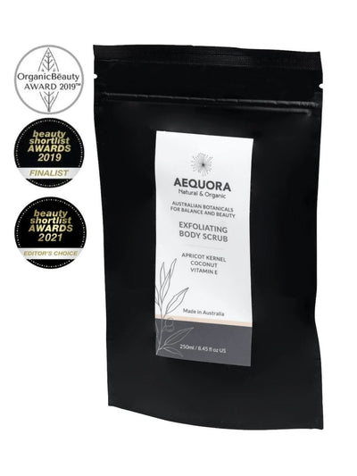 Exfoliating Body Scrub-Aequora-All Australian Made-Remarkable Humans