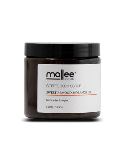 Sweet Almond & Orange Oil Coffee Body Scrub-Mallee Scrub-All Australian Made-Remarkable Humans